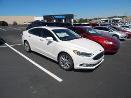 2017 Ford Fusion Platinum by CadillacBrony