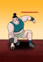 Sumo-Noh by tombola1993