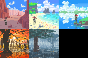 8-bit Album Covers pt.2 by Biodrawxel