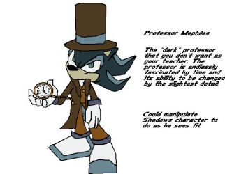 Professor Mephiles design by Dr-Spudhead