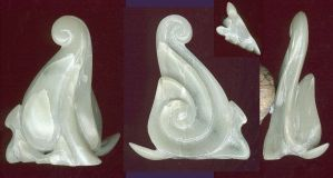 Untitled soapstone by entanglement