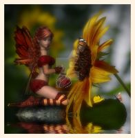 Little Red Fairy by CaperGirl42