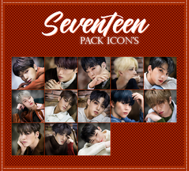 Pack Icons- Seventeen. by fania98