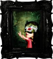 Portrait of a Gothic Beauty by BeautifulBizarreMag