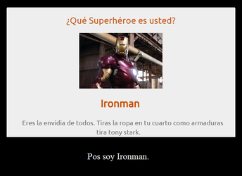 I am Ironman by LadyShentra