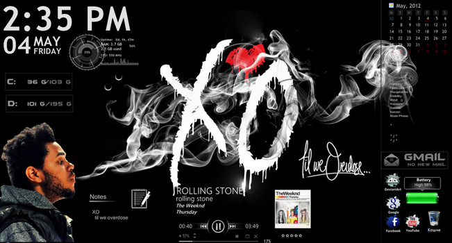 XO Desktop by eight-wonder
