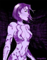Colored Cortana by HaloGoddess1