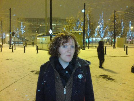 Me in Manchester by lauraarmstrong