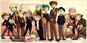 the entire class by SiluHette