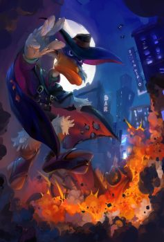 Darkwing Duck by oritey