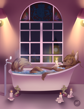 Midnight Soak by Obakawaii