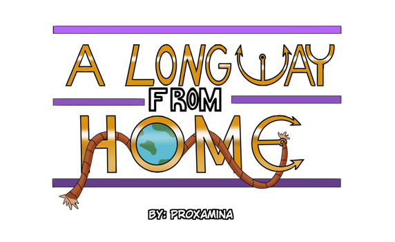A Long way from home Logo by Proxamina