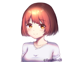 colored sketch practice by kyoshuko20