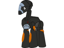 BX-series Commando droid in the Mlp universe by B1BattleDroid