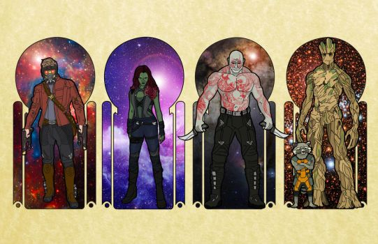 The Seasons of The Guardians by EmiryFace