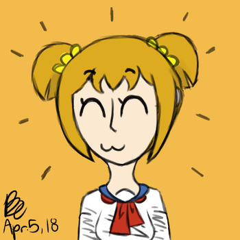 Matching Icon - Popuko by BrookeCaptor