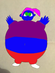 Blueberry Sophie Balloona colored by Montyclan