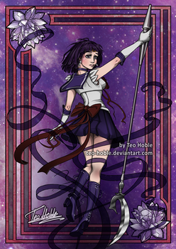 Sailor Saturn by Teo-Hoble