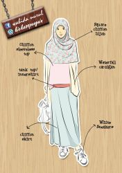 Casual Muslimah Fashion by hamzahinsancita