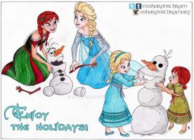 Disney's Frozen Christmas by Sharsel