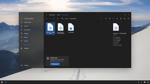 File Explorer 2.0 - Win10 Project Neon Concept by SamuDroid