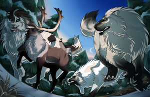 Hunting 5 by WolfsMoon1