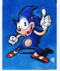 Sonic Painting by MiltonKnight