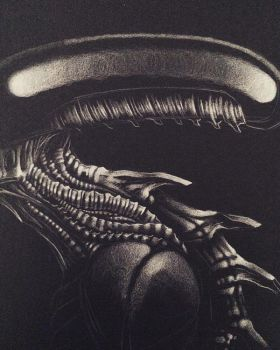 ALIEN (variacion original) by DEVIAN-MALKHAVIAN