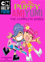 Hi Hi Puffy AmiYumi DVD Cover by Prentis-65