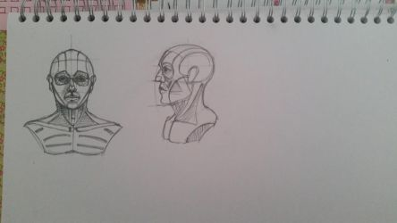 Heads Drawing by desenez88