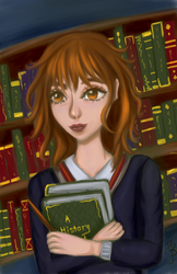 Hermione Granger by LenaLightwood