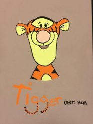 Tigger Painting by Scott04069418