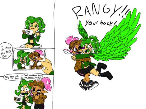 The comeback (Floras reaction) by RangerBizmuth