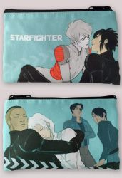 NEW STARFIGHTER COSMETIC BAGS by HamletMachine