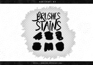 Brushes #04 (STAINS) by exoyeol
