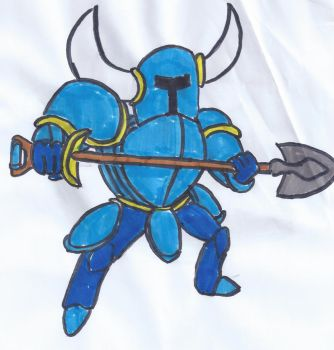 Shovel Knight by Zach205