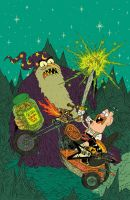 Uncle Grandpa Cover by burnay