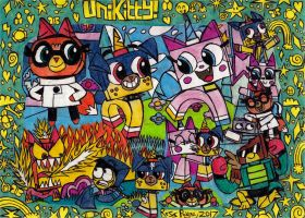 Unikitty! by Khialat