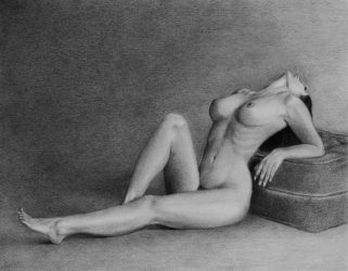 Nude Figure Study by PMucks