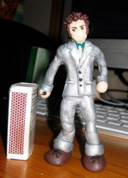 Dr. Who miniature figurine 2 by Emmuska