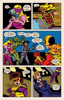 Lady Spectra and Sparky: Enemy of My Enemy pg.11 by JKCarrier