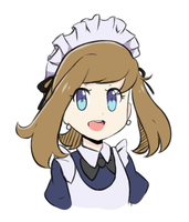 Pokemon ORAS - Maid May by chocomiru02