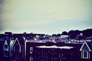 HDR Rooves by ciseaux