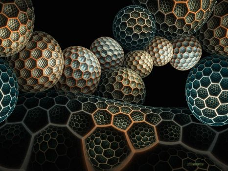 Buckyballs by pillemaster