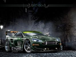 DTM Aston Martin by Jay5204
