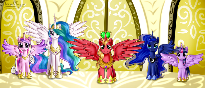 The Fifth Princess by teammagix