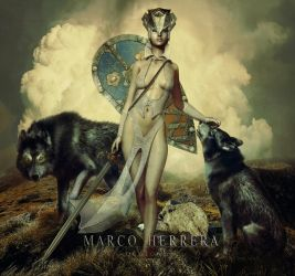 Queen of Wolves by MarcoHerrera