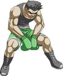 High Resolution Sprite - Little Mac by extrahp