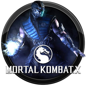 Mortal Kombat X Icon v4 by andonovmarko