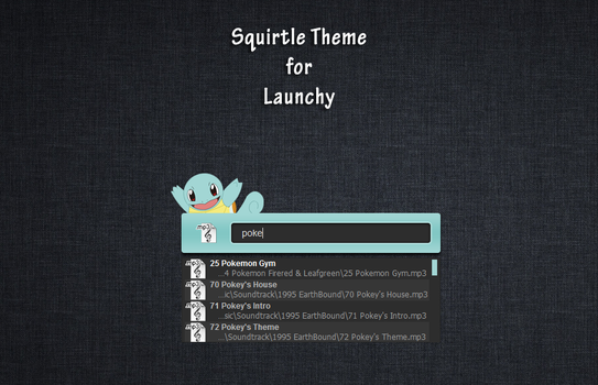 Squirtle Launchy by BTNH108464